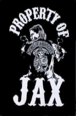 Property Of Jax Teller Soa Biker Tv Show Womens T Shirt